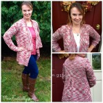Darcey Heathered Knit Draped Cardigan Stitch Fix