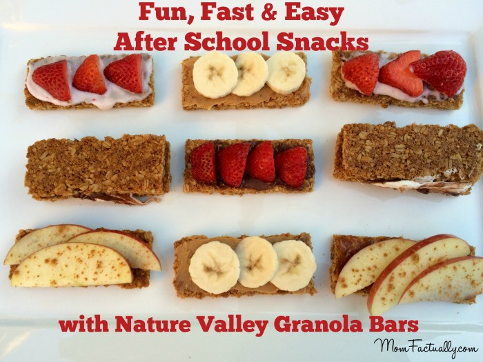 Fun fast and easy after school snacks kids can make for Easy after school snacks for kids to make